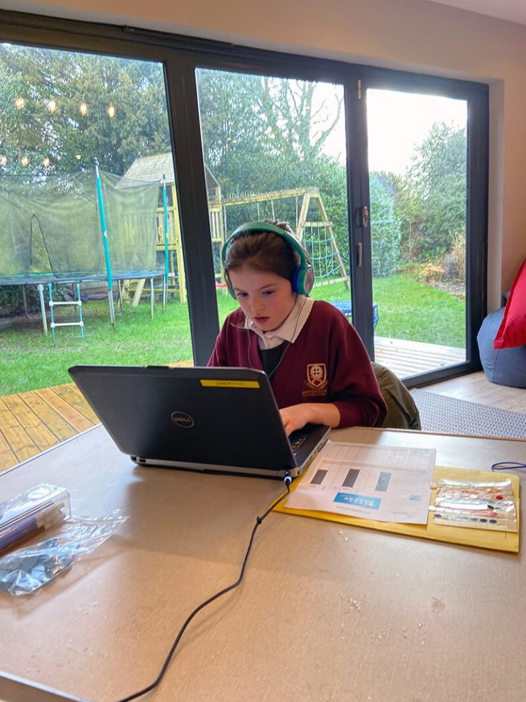 tea time course touch typing concentration